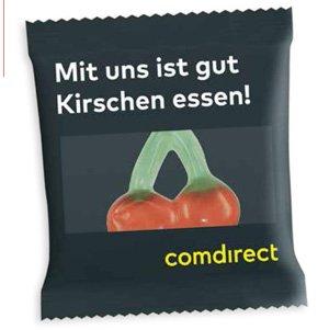 HARIBO Happy Cherry als Werbeartikel bedrucken, Werbemittel aus dem Sortiment Fruchtgummi / Essen & Trinken
