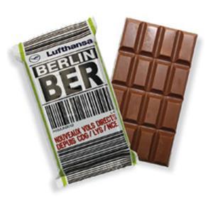 Schokoladentafel 40g - Schokoladentafeln bedrucken - Werbeartikel Schokolade | Artikel-Nr. SR-3149