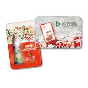 Werbeartikel Weihnachten.Sweet Card Weihnachten Individuell Werbegeschenke Weihnachten Adicor