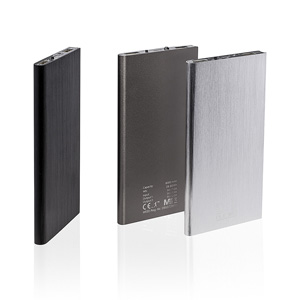 Powerbanks bedrucken - Q-Pack Leo - Powerbank mit Logo - Werbeartikel USB   Artikel-Nr. A100715