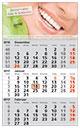 Werbeartikel 3 Monats-Wandkalender Standard 1
