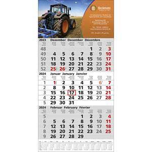 3-Monatskalender TOP-12 als Werbeartikel | Artikel-Nr. WK-5107