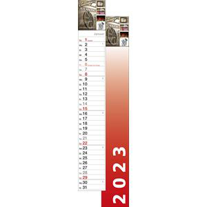 Streifenkalender S-700 2021 - Werbekalender drucken - Werbeartikel Kalender | Artikel-Nr. WK-5127