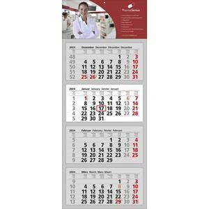 Clever 4 - 4-Monatskalender 2020 drucken - Werbeartikel Kalender | Artikel-Nr. WK-5144