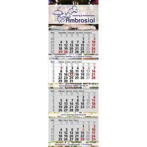 EXCLUSIV 4 - 4-Monatskalender 2020 drucken - Werbeartikel Kalender | Artikel-Nr. WK-5164