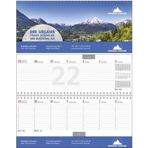 Tisch-Querkalender Business-Exclusiv 1 bedrucken | Artikel-Nr. WK-5204